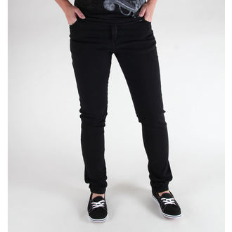 UNISEX Hose 3RDAND56th - Hipster Slim Fit - Black, 3RDAND56th