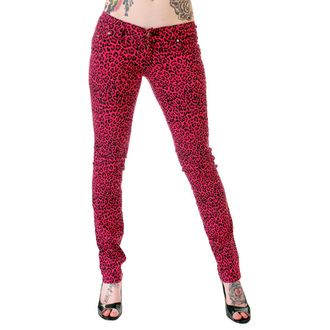 Damen Hose  3RDAND56th - Print Skinnies - Pink, 3RDAND56th