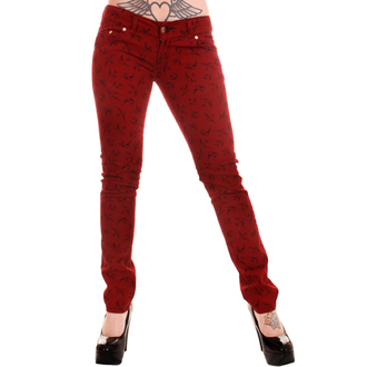 Damen Hose  3RDAND56th - Swallow Skinny Jeans - Wine, 3RDAND56th
