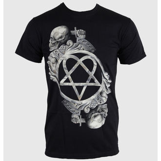 Herren T-Shirt Him - Bone Sculpture - ROCK OFF, ROCK OFF, Him
