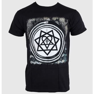 Herren T-Shirt Him - Album Symbols - ROCK OFF, ROCK OFF, Him