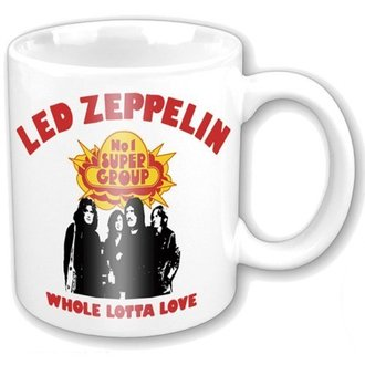 Keramiktasse  Led Zeppelin - Whole Lotta Love - ROCK OFF, ROCK OFF, Led Zeppelin