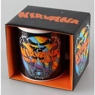 Keramiktasse  Nirvana - Come As You Are - ROCK OFF, ROCK OFF, Nirvana