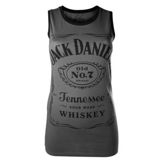 Top Damen Jack Daniels - Charcoal - BIOWORLD, JACK DANIELS