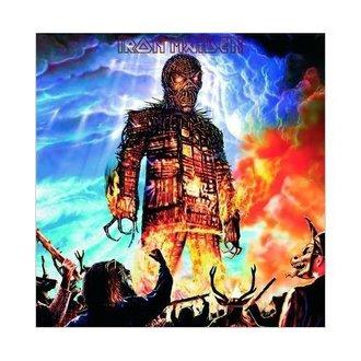 Glückwunschkarte Iron Maiden - Wicker Man - ROCK OFF, ROCK OFF, Iron Maiden