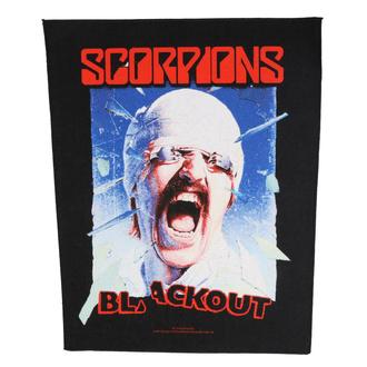 Rückenaufnäher Patch Scorpions - Blackout - RAZAMATAZ, RAZAMATAZ, Scorpions
