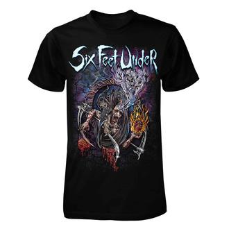 Herren T-Shirt Metal Six Feet Under - Scales of Death - ART WORX, ART WORX, Six Feet Under
