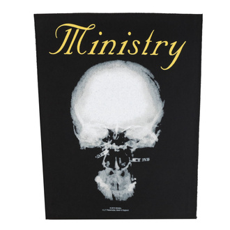 Rückenaufnäher Patch Ministry - The Mind Is A Terrible Thing To Taste - RAZAMATAZ, RAZAMATAZ, Ministry