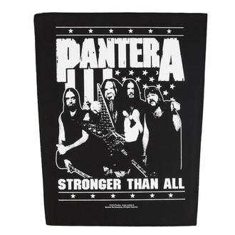 Rückenaufnäher Patch Pantera - Stronger Than All - RAZAMATAZ, RAZAMATAZ, Pantera