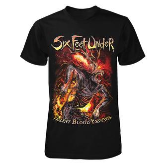 Herren T-Shirt Metal Six Feet Under - Violent Blood Eruption - ART WORX, ART WORX, Six Feet Under