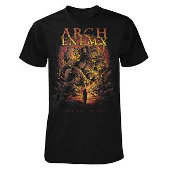 Herren T-Shirt Metal Arch Enemy - First Day In Hell - ART WORX, ART WORX, Arch Enemy
