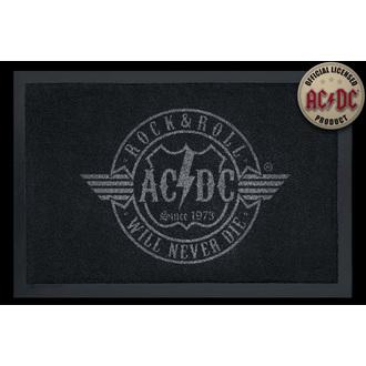 Fußmatte AC/DC - R'n'R Never Die - ROCKBITES, Rockbites, AC-DC