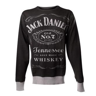 Herren Pullover Jack Daniels - Knitted Sweater - Black - Bioworld, JACK DANIELS