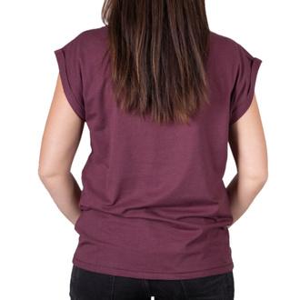 Damen T-Shirt Street - PIN UP SKULL EXT - BLACK HEART, BLACK HEART
