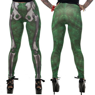 Damen Leggings KREEPSVILLE SIX SIX SIX - Skele-Bone - Slime, KREEPSVILLE SIX SIX SIX