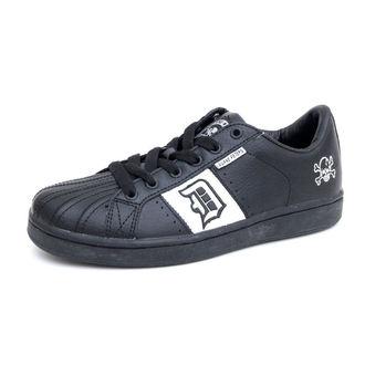 Schuhe Draven Duane Peters Disaster skate Shoes blc wht mc1600i, DRAVEN
