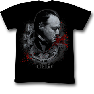 Herren T-Shirt Godfather - Showing Respect - AC, AMERICAN CLASSICS, Der Pate