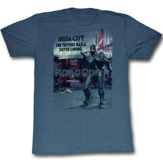 Herren T-Shirt Robocop - Silver - Lining - AC, AMERICAN CLASSICS, Robocop