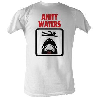 Herren T-Shirt Jaws (Der weiße Hai)  - Amity Waters - AC, AMERICAN CLASSICS, Der weiße Hai
