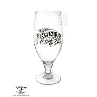 Glas ALCHEMY GOTHIC - La Belle Epoch Absinthe Tumbler, ALCHEMY GOTHIC