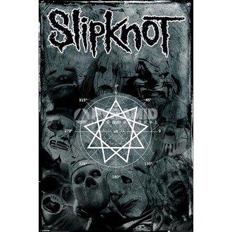 Poster Slipknot - Pentagram - PYRAMID POSTERS, PYRAMID POSTERS, Slipknot