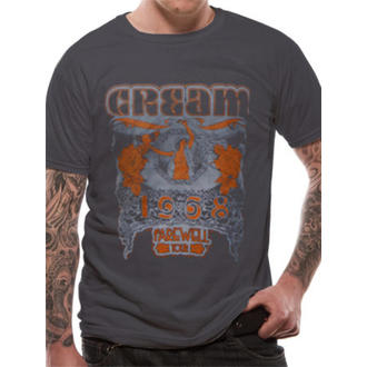 Herren T-Shirt   Cream - Neaveu - Grey - LIVE NATION, LIVE NATION, Cream