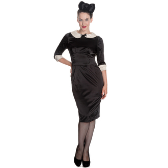 Damen Kleid HELL BUNNY - Moneypenny - Blk/Ivory, HELL BUNNY