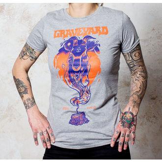 Damen T-Shirt Graveyard - Satan - SportS Grey - BUCKANEER, Buckaneer, Graveyard