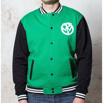 Herren Sweatjacke  Pennywise - Logo - Green/Black/White - BUCKANEER, Buckaneer, Pennywise