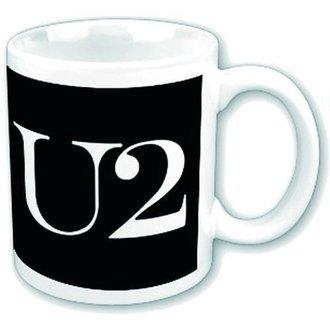 Keramiktasse U2 - Logo - ROCK OFF, ROCK OFF, U2