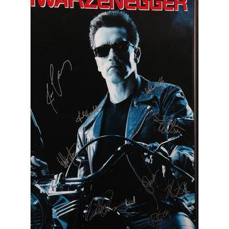 Poster mit Signatures Terminator 2, ANTIQUITIES CALIFORNIA, Terminator