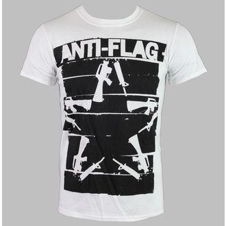 Herren T-Shirt   Anti-Flag - Duct Tape Guns Star - White - KINGS ROAD, KINGS ROAD, Anti-Flag