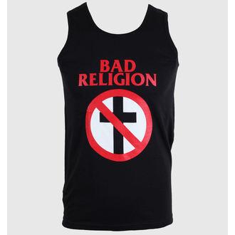 Herren Tanktop Bad Religion - Cross Buster - Black - KINGS ROAD, KINGS ROAD, Bad Religion