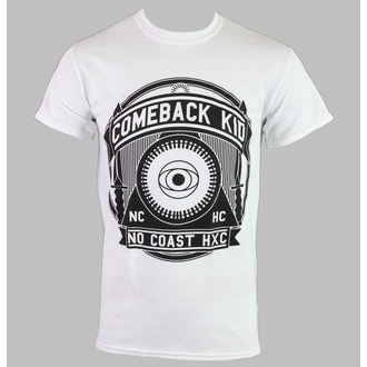 Herren T-Shirt   Comeback Kid - NCHC - White - KINGS ROAD, KINGS ROAD, Comeback Kid