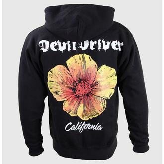 Herren Hoodie  Devil Driver - California Poppy - Black - KINGS ROAD, KINGS ROAD, Devildriver