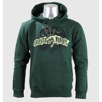 Herren Hoodie  Dropkick Murphys - Mohawk Skull - Green Bottle - KINGS ROAD, KINGS ROAD, Dropkick Murphys
