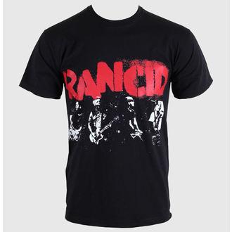 Herren T-Shirt   Rancid - Let The Dominoes - Black - KINGS ROAD, KINGS ROAD, Rancid