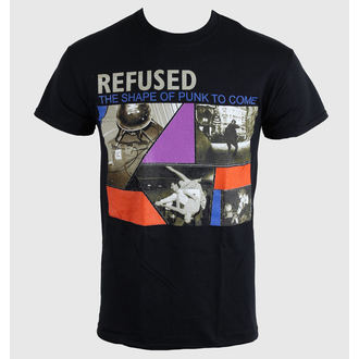 Herren T-Shirt   Refused - The Shape Of Punk - Black - KINGS ROAD, KINGS ROAD, Refused
