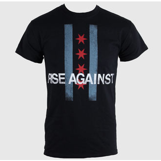 Herren T-Shirt   Rise Against - Flag - Black - KINGS ROAD, KINGS ROAD, Rise Against