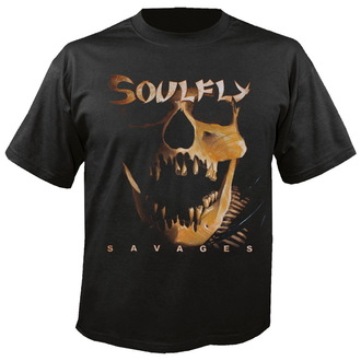 Herren T-Shirt    Soulfly - Savages - NUCLEAR BLAST, NUCLEAR BLAST, Soulfly
