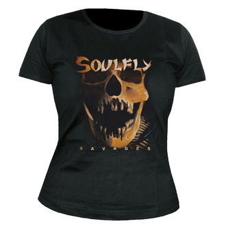 Damen T-Shirt   Soulfly - Savages - NUCLEAR BLAST, NUCLEAR BLAST, Soulfly