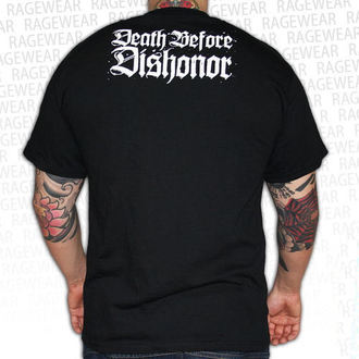 Herren T-Shirt Death Before Dishonor - Black Bats - Black, RAGEWEAR, Death Before Dishonor