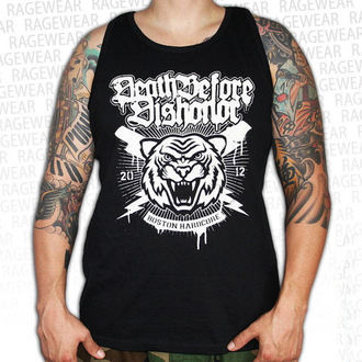 Herren Tank Top Death Before Dishonor - Tiger - Black - RAGEWEAR, RAGEWEAR, Death Before Dishonor