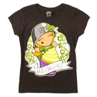 Kinder T-Shirt METAL MULISHA - CUPCAKE, METAL MULISHA