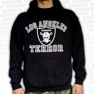 Herren Hoodie  Terror - Los Angeles - Black - RAGEWEAR, RAGEWEAR, Terror