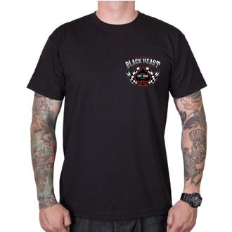 Herren T-Shirt Street - ALEXIS - BLACK HEART, BLACK HEART