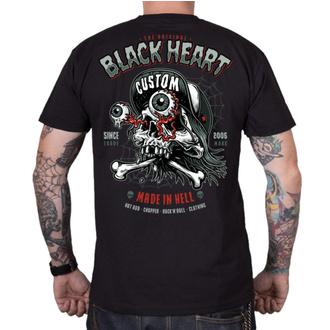 Herren T-Shirt Street - FULL PUNK - BLACK HEART, BLACK HEART