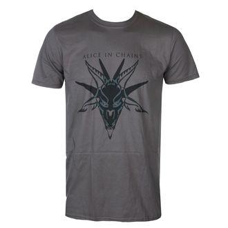Herren T-Shirt   Alice in Chains - Black Skull Charcoal - BRAVADO EU, BRAVADO EU, Alice In Chains
