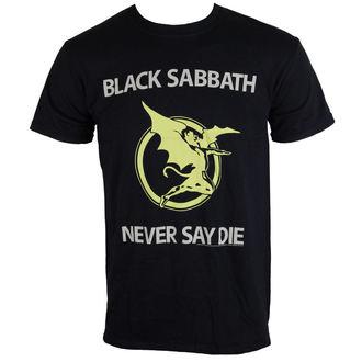 Herren T-Shirt   Black Sabbath - Never Say Die - Blk - BRAVADO EU, BRAVADO EU, Black Sabbath