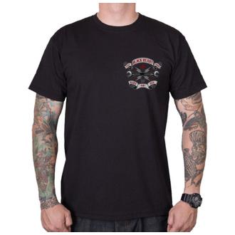 Herren T-Shirt Street - RIDE OR DIE - BLACK HEART, BLACK HEART